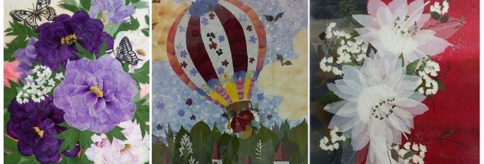 ハンドメイド教室【Flower Poem:フラワーポエム】押し花|ポーセラーツ|グラスアート|島根県出雲市・雲南市
